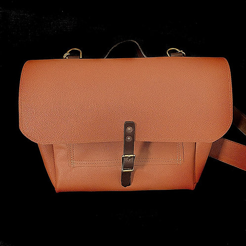 Horween Chestnut Outland Leather Messenger Bag