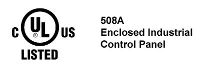 It's official! Pacific Blue Engineering is a certified UL508A listed industrial control panel sh