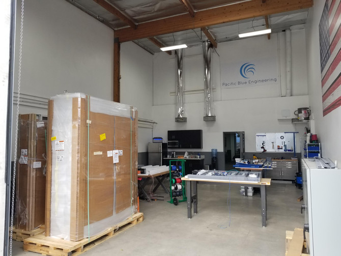 Busy in the shop!  We build all types and sizes of industrial control panels.