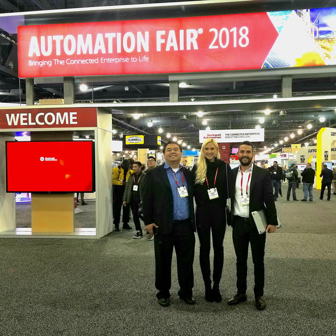 Great to see a lot of familiar faces at the Rockwell Automation fair in Philadelphia.  We are very f
