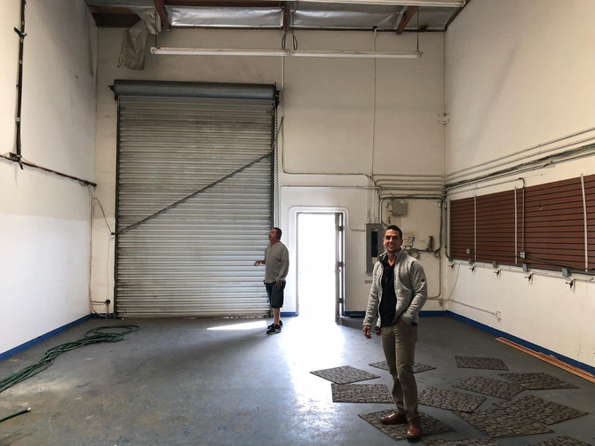 Pacific Blue Engineering will be expanding into a larger space next month.  This move will facilitat