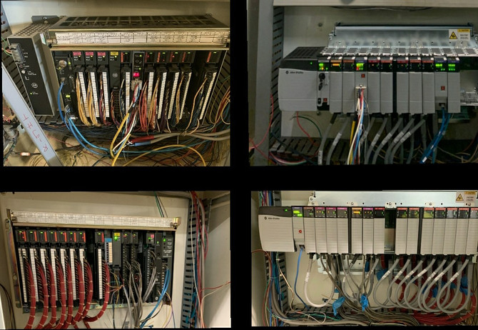 Pacific Blue upgraded a complex PLC5 to ControlLogix application utilizing the Rockwell Automation c