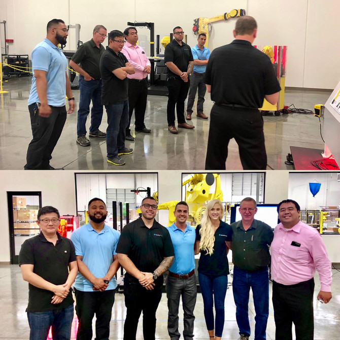 Thanks to Fanuc for hosting Pacific Blue and showing us some really cool stuff at their state of the