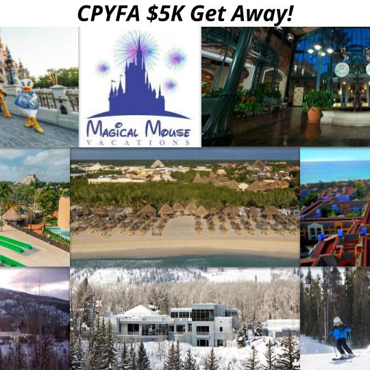 CPYFA $5K Get Away!