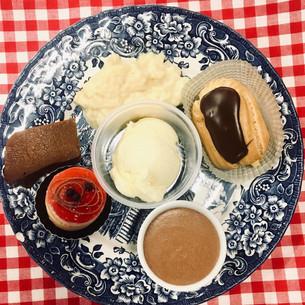 Dessertbord met 6 dessertjes