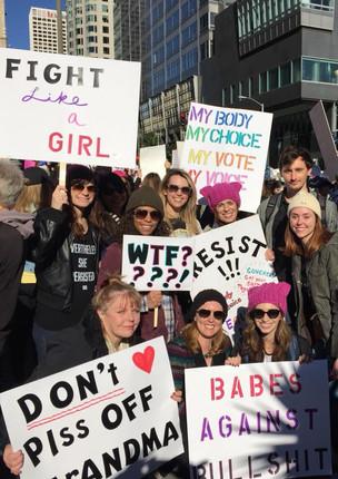 Lean In LA x Women's March Meet-up