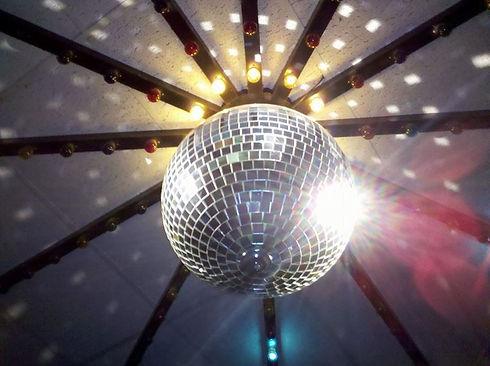 Entertainment lighting at The Carousel Skating Rink