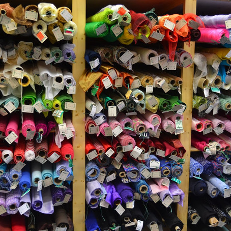 Did someone say fabric shopping?!