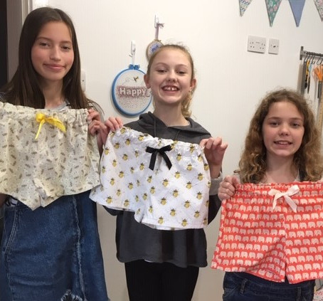 Kids Club Sewing