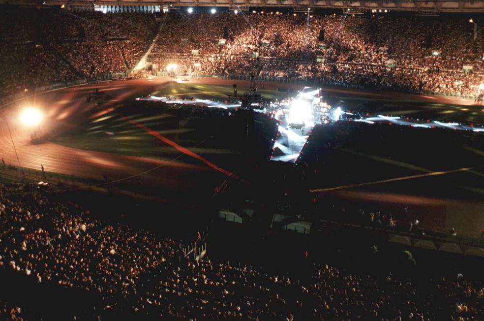 Baglioni, stadio Olimpico Roma
