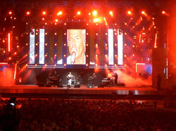 Live 8 stage - Rome