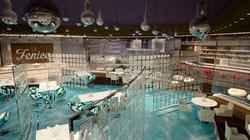 Club and restaurant in Dubai