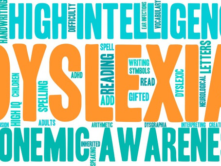 October is Dyslexia Awareness Month!