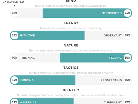 Áed takes a Personality Test