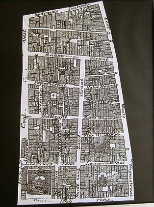 Drieluik De Polder, stadsplattegrond (2)