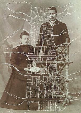 portret 1910 Marrigje en Hendrik Madern