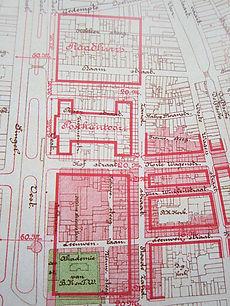 Nieuwbouwplannen Centrum Rotterdam 1912