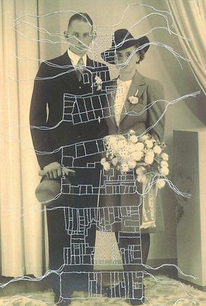 portret 1940 Klazien en Daan v.d Kooij
