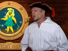 """Stella The Star Fish from The Story Ship's """"Pirate Goodie & The Magic Chest"""