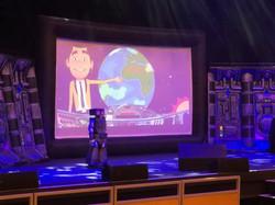 Space School Show Set Story Ship