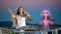 Space School Show Alien Dance Science St