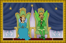 King & Queen Of Dreams From The Story Ship's Fairy Godfather Show