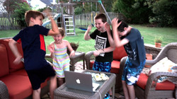 Kids To Pirate Goodie Singing In Virtual School Show
