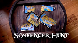 Interactive Scavenger Hunt With Treasure Map
