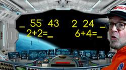 Space School Show Math Story Ship STEAM.