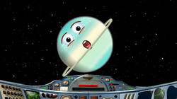 Space Science School Show Planets Uranus