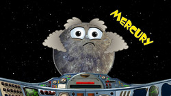Space School Show Planets Mercury Solar