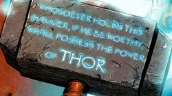 Thors hammer inscription