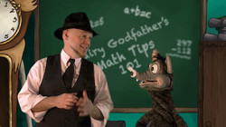Fairy Godfather Talks Math With Dirty RatFrom The Story Ship's Fairy Godfather Show