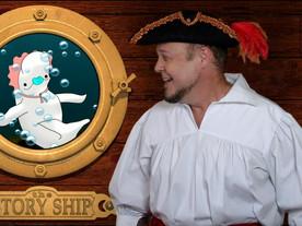 Baby Beluga helps Pirate Goodie Open His Treasure Chest