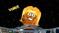 Space Science School Show Venus Planets