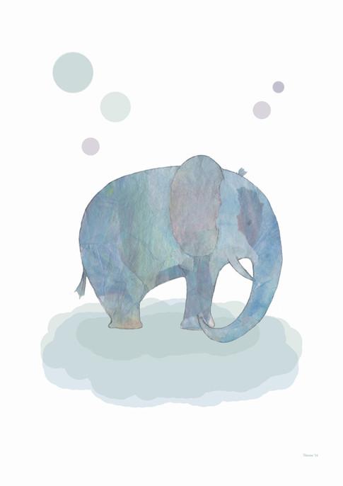 Zwevende olifant