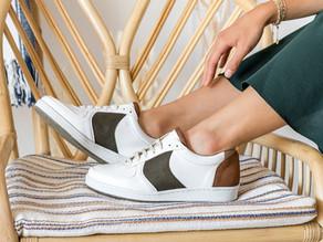 Des chaussures vegan et upcyclées MINUIT SUR TERRE