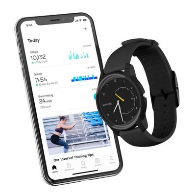 Une montre connectée personnalisée WITHINGS