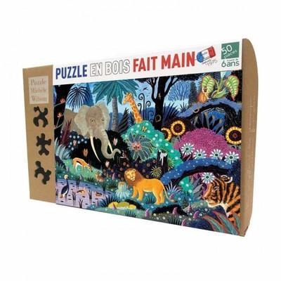 Un puzzle en bois fait main par MICHÈLE WILSON