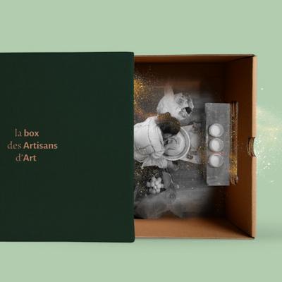 Un objet d'art en édition limitée LA BOX DES ARTISANS D'ART