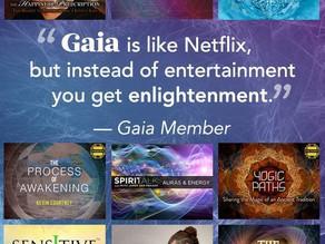 Un abonnement à la plateforme de spiritualité GAIA