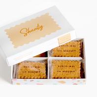 Des biscuits personnalisés SHANTY BISCUITS