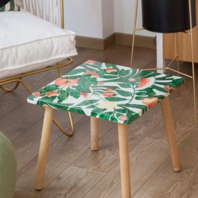 Une table upcyclée personnalisable TIZU