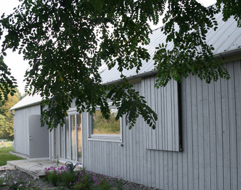 PAUL Hausbau GmbH| Scheunenhaus| Schiebeläden