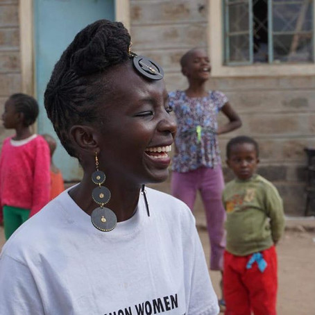 Meet Agnes Gitonga, the co-founder of a non-government organisation that aims to empower women.
