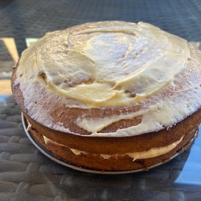 Vegan and Gluten free Polenta cake