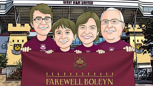 Farewell Boleyn Quad