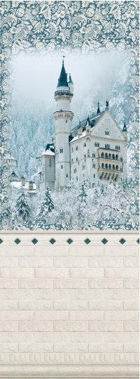 Замок синий PANDA