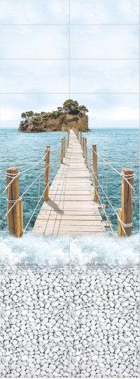 Море панно  Мост PANDA