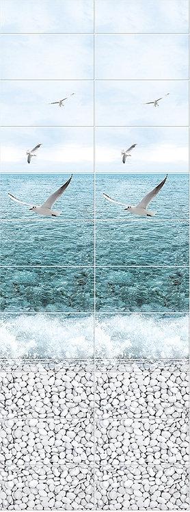 Море панно Чайки PANDA